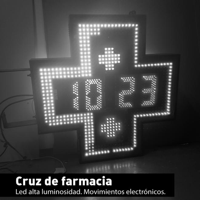 Cruz de Farmacia LED